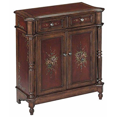 Cabinet Walnut Painted - Stein World Furniture Chamberlin Petite Chest, Burgundy, Walnut
