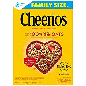 Cheerios Gluten Free Cereal 21 oz Box