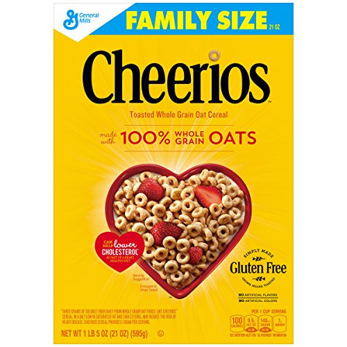Cheerios Gluten Free Cereal, 21 oz