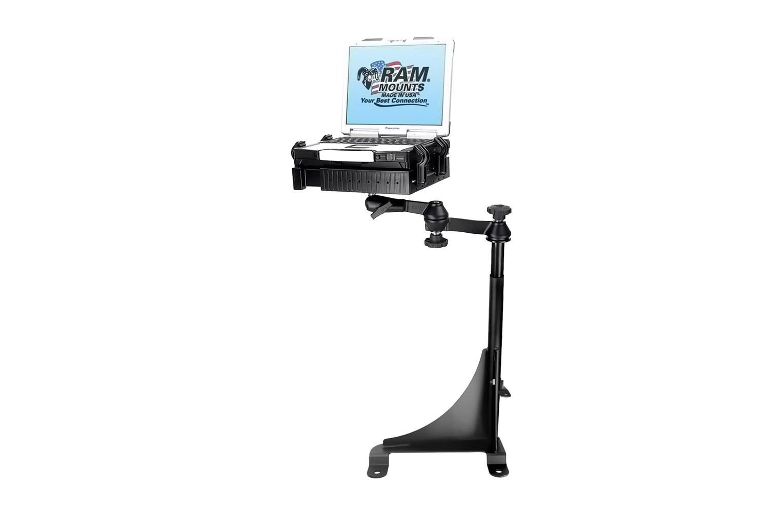 RAM Mount RAM-VB-143-SW1 No-Drill Laptop Mount for the Chevrolet Express Van & GMC Savana Van
