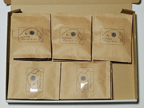 Parrot coffee Manderin Mitra depth roasted drip coffee 15 (Mitre Cup)