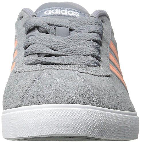 Adidas Neo Vrouwen Courtset W Mode Sneaker Grijs / Zon Gloed Geel / Wit