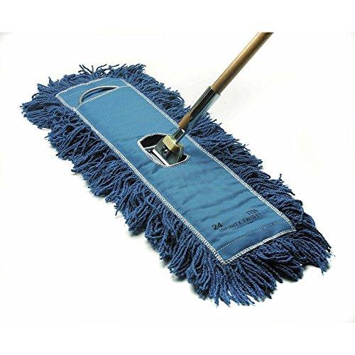 HUBERT Dust Mop With Blue Cotton Yarn - (Cotton Yarn Mop)