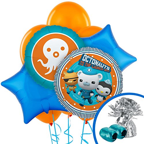 BirthdayExpress The Octonauts Party Supplies - Balloon Bouquet