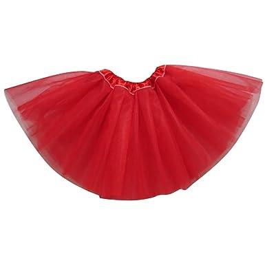 YouPue Princesa Falda De Tul para Niñas Tutu Falda Ballet Danza ...