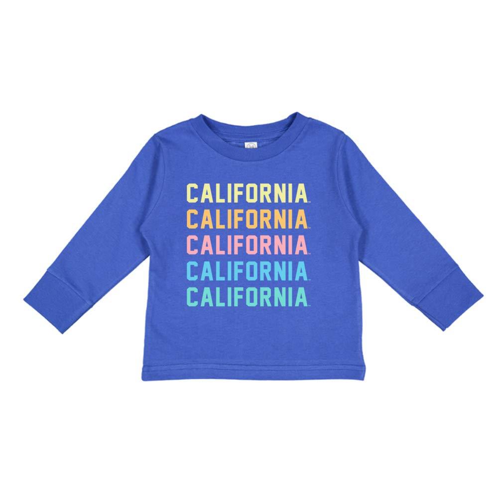NCAA Cal Berkeley Bears RYLCAL05 Toddler Long-Sleeve T-Shirt