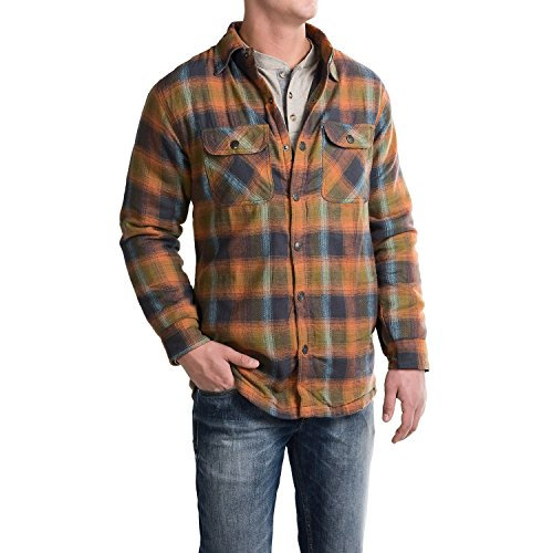 Pacific Trail Men's Thermal-Lined Flannel Shirt Jacket - ...