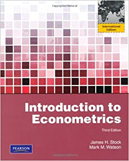 Stock and watson 3rd edition.