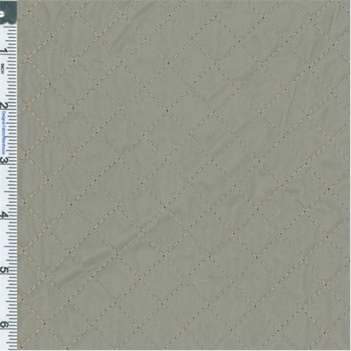 - Trench Grey Quilted Vinyl Decorating Fabric, Fabric by The Yard