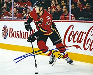 Autographed Sean Monahan 8x10 Calgary Flames Photo