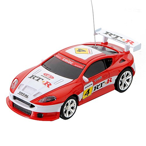 Mini Coke Can Speed RC Radio Remote Controlled Micro Racing Car Toys Kids Game ()