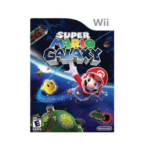 New Nintendo Super Mario Galaxy Action/Adventure Game Wii...