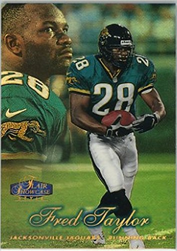 1998 Flair Showcase Row 2 #22 Fred Taylor NM-MT RC Rookie - Showcase Flair 1998