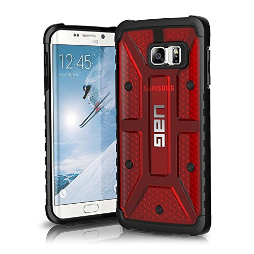 UAG Samsung Galaxy S6 Edge Plus [5.7-inch Screen] Feather-Light Composite [Magma] Military Drop Tested Phone Case