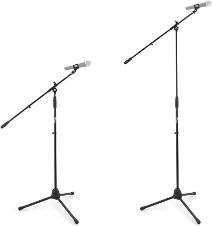 Tiger MCA68-BK - Soporte de mesa para micrófono con jirafa y pinza ...