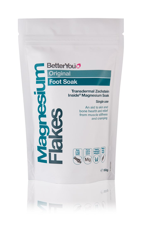 BetterYou - Magnesium Flakes - Foot Soak - 150g TRTAZ11A
