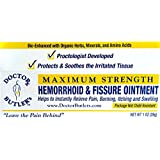 Doctor Butler's Hemorrhoid & Fissure Ointment…FDA Approved Pain Relief & Healing Formula (also contains Organic Herbs, Minerals and Amino Acids)
