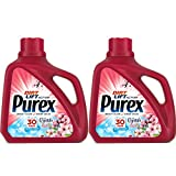 Purex 150 Fl Oz, 100 Loads Liquid Laundry Detergent with Crystals Fragrance, Fresh Cherry Blossom 2-Pack