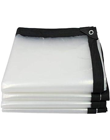 AOHMG Lonas Transparente Lonas Protección, tela plástica a prueba de lluvia del paño de alta