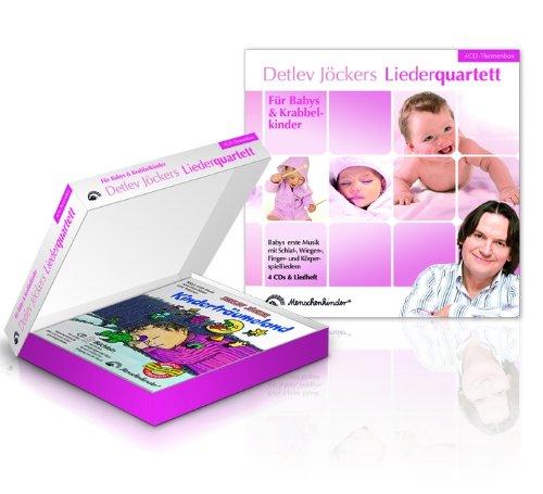 Detlev Jöckers Liederquartett: Für Babys und Krabbelkinder: Themenbox: Babys erste Musik mit Schlaf-, Wiegen-, Finger- und Körperspieliedern