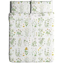 Ikea Strandkrypa Duvet Cover and Pillowcases, Full/Queen, White