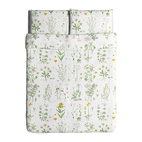 Funda Nordica Ikea 90.Ikea Strandkrypa Duvet Cover And Pillowcases Full Queen White