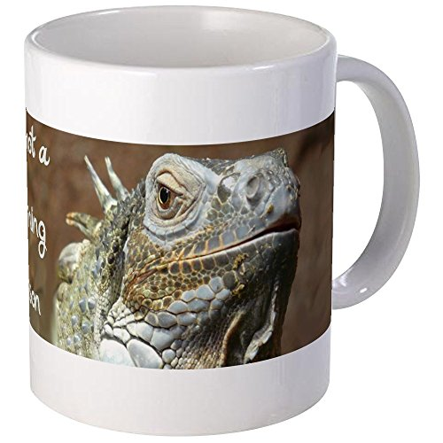 CafePress Iguana Morning Mug Unique Coffee Mug, Coffee Cup