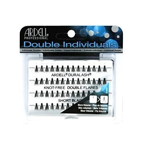 Ardell Double Individuals Knot Free Double Flares Black Short (3 Pack) Ardell Individual Eyelashes Flare