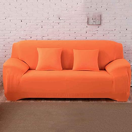 Sofa Cover 1 2 3 4 Seater Polyester Spandex Printed Couch Cover Easy Fit Elastic Fabric Stretch Sofa Protector Settee Sofa Covers