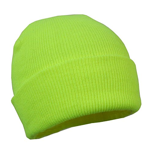 Neon  (Yellow Beanie Hat)