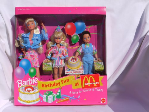 Mattel Barbie Birthday Fun at McDonald's - A party for St...