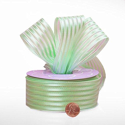 Pistachio Candy Ribbon 1 1/2