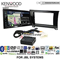 Volunteer Audio Kenwood Excelon DNX694S Double Din Radio Install Kit with GPS Navigation System Android Auto Apple CarPlay Fits 2007-2017 Toyota Tundra with Amplified System (Piano Gloss Black)