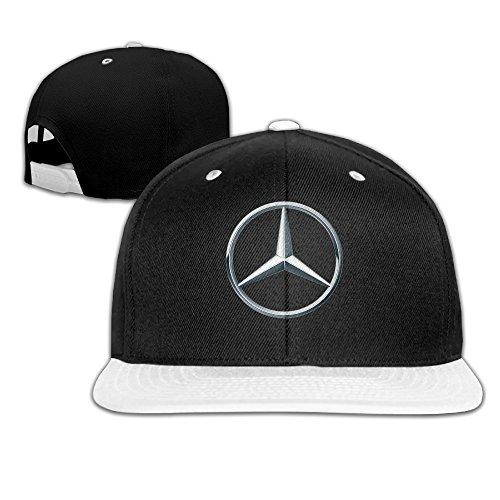nadaki-mercedes-benz-logo-unisex-adjustable-hip-hop-baseball-cap-white