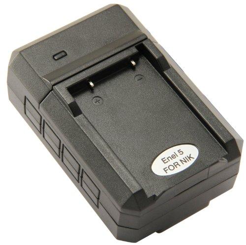 STK EN-EL5 Charger for Nikon Coolpix P500, P510, P100, P90,