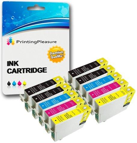 22 opinioni per 10 XL Compatibili Epson T1291-T1294 (T1295) Cartucce d'inchiostro per Stylus