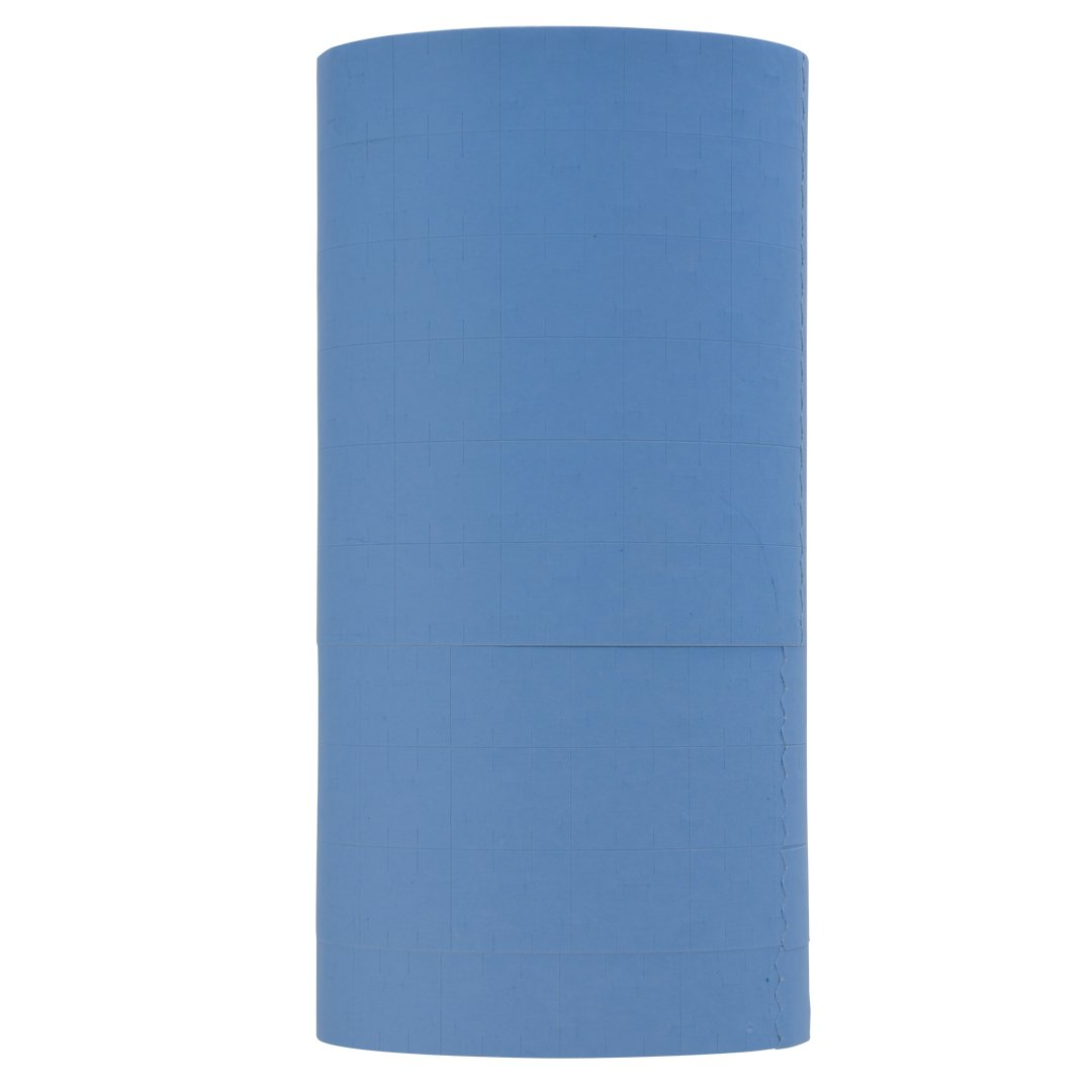 Pastel Blue Pricing Labels to fit Monarch 1115 Pricers. 10 Rolls with 1 Free Ink Roller.