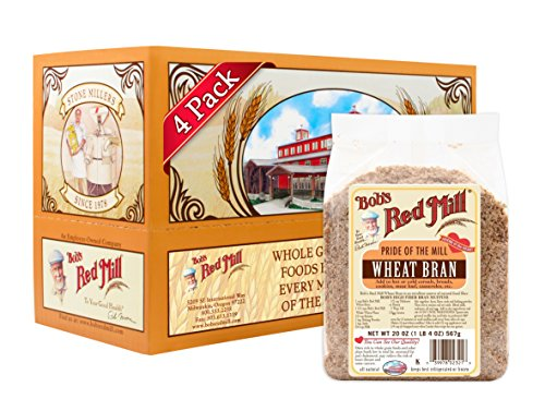 Bob's Red Mill Wheat Bran, 20 Ounce (Pack of 4)