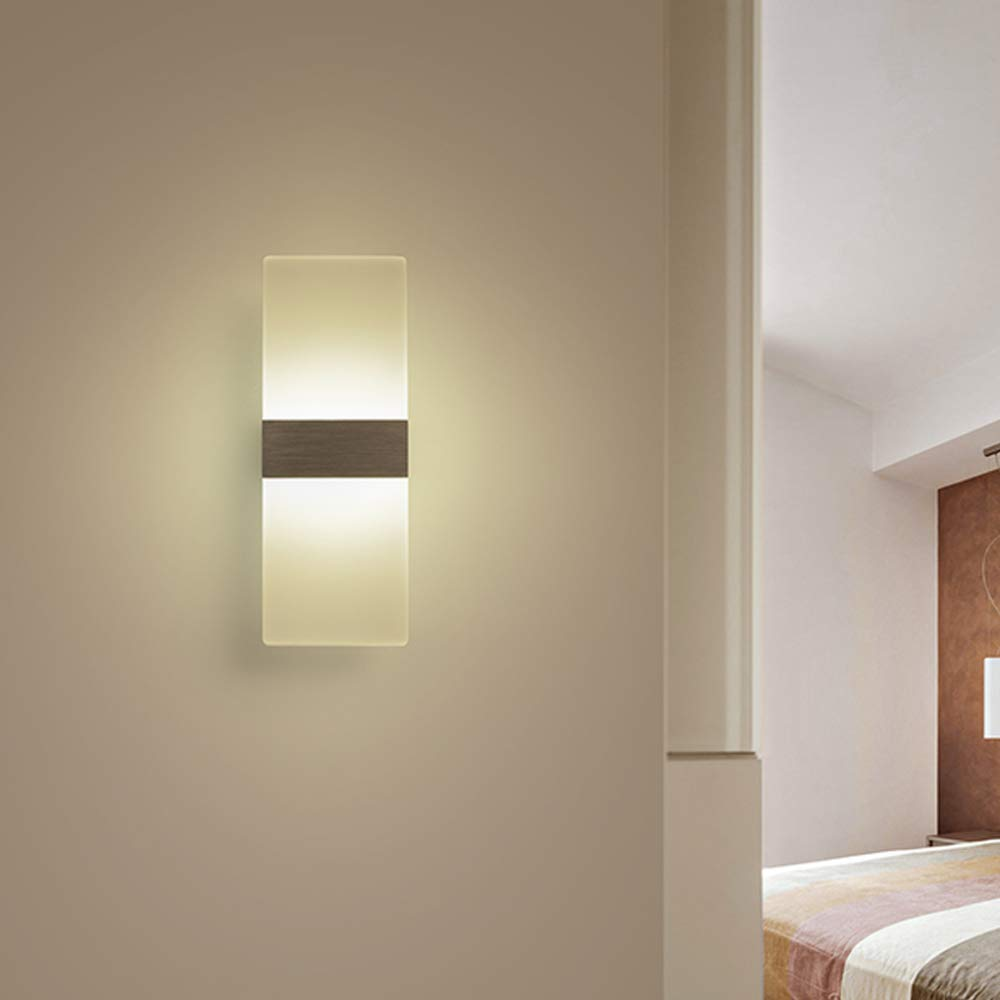 Zhaohuifang Wandleuchte Led Wandleuchte Grosse Nachttischlampe