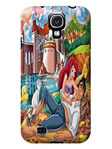 DIY armor tpu skin back cover with sincere for Samsung Galaxy s4(The Little Mermaid)by Ariel Poppaw