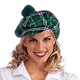 Forum Novelties Men's Green Plaid Cap, Plaid, One Size