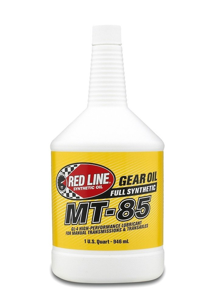 Red Line 50524 MT-85 75W-85 GL-4 Gear Oil, (Case of 12) by Red Line Oil