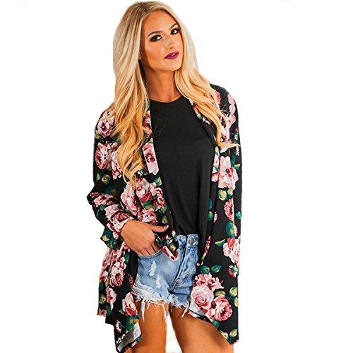 Mixmax Sleeves Chiffon Kimono Cardigan product image