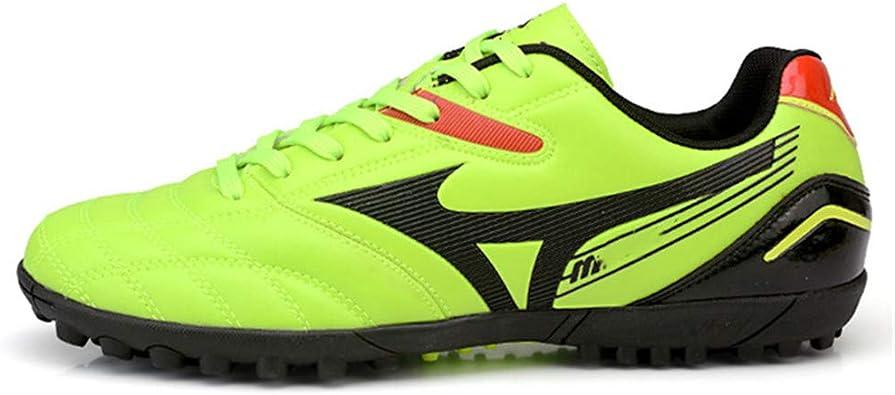 Zhuo Qun Shang Mao Botas de fútbol Hombre Botines de fútbol Profesionales Zapatos de fútbol de fútbol Sala Zapatillas de fútbol Zapatillas Cortas de Entrenamiento de cancha Dura: Amazon.es: Zapatos y complementos