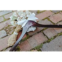 Wedding Hanger, Bride Decal Hanger, Bridal Wedding Gift