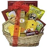 GreatArrivals Gift Baskets Get Well Gift Basket, To Brighten Your Day, 4 Pound