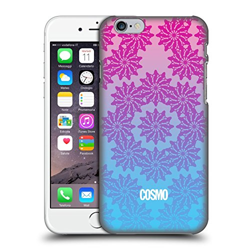Official Cosmopolitan Ombre 3 Floral Patterns Hard Back Case for Apple iPhone 6 / 6s