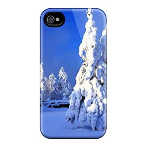 Awesome Case Cover/iphone 4/4s Defender Case Cover(a Snowy Wonderl)