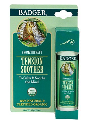 Badger Tension Soother Stick Certified Organic Tangerine & R