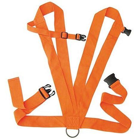 Amazon.com : Allen Co 33 Dual Harness Deer Drag, Blaze Orange ...